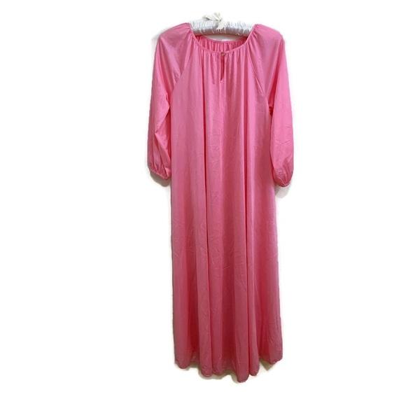Vintage 60s Night Gown Sheer Nylon